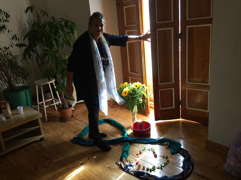 Sobre el último encuentro en Madrid con Jutta ten Herkel
